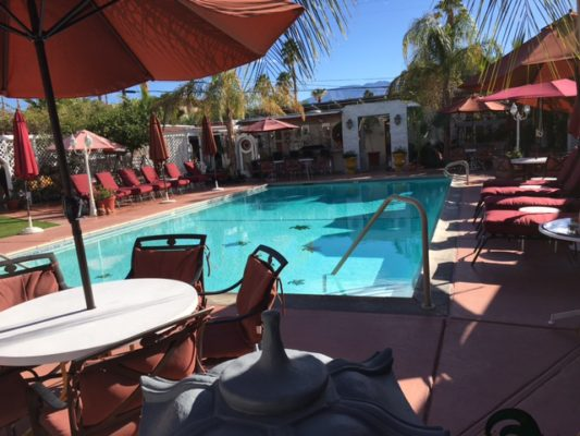 Casa Larrea Inn's Pool and Patio, Palm Desert CA 92260