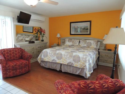 Interior view of Casa Larrea Inn, Deluxe Guest Room w/Kitchen